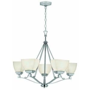Home Decorators Collection Sydney 5-light Polished Nickel - Collection Nickel Five Chandelier Light