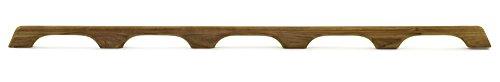 Whitecap 60108 Teak Handrail - 5-Loop (Teak Stock)
