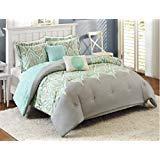 dens Kashmir 5-Piece Bedding Comforter Set - FULL/QUEEN ()
