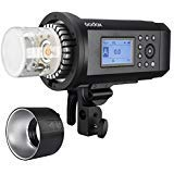 Godox AD600Pro Bowens Mount 600ws High Speed Sync with 2.4G Wireless X System Outdoor Flash Strobe Light,2600mAh Battery to Provide 360 Full Power Flashes Recycle in 0.01-0.9 Second