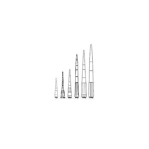Denville Scientific P3020-CPS Sterile/Non-Filtered Low Retention Pipet Tip, Fits P-20, P-100, P-200, 200 µl Capacity (Pack of 960)