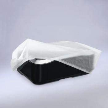 46.5 x 16 x 44.5 cm Transparent Hama Protective Dust Cover for Printers