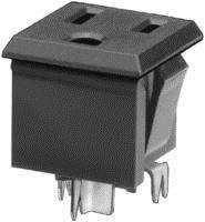 SCHURTER 4300.0702 CONNECTOR 1 piece POWER ENTRY SOCKET 15A