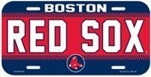 WinCraft MLB Boston Red Sox 86901515 License Plate ()