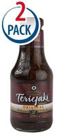 Kikkoman Teriyaki Sauce Original -- 20.5 fl oz Each / Pack of 2 -