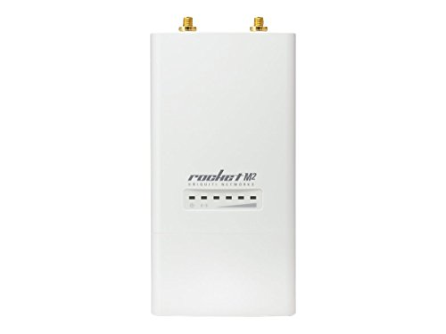Ubiquiti Rocket M2, RM2 2.4GHz Rocket 2x2 11n MIMO CPE AirMax TDMA 50+km 150+Mbps by Ubiquiti Networks