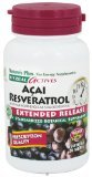 Nature's Plus Herbal Actives Acai Resveratrol - 30 Vegetarian Tablets