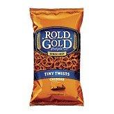 - Rold Gold Cheddar Tiny Twists Pretzels 10 oz