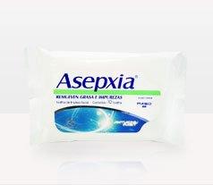 Asepxia TOALLITAS LIMPIEZA CONTINUA (10 toallitas)