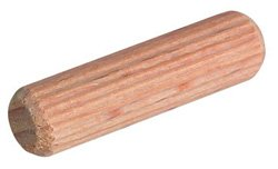 Pro-pack 1000 pcs, Wood Dowel, fluted, 3/8'' x 2'' by handyct
