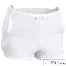 Athletic 3 Pocket Youth Girdle (3 pair Bike football poly 3 pocket girdles NEW Youth M BYGR33)