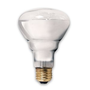 PET LIGHT BULB 75 WATT BR25 CLEARBRIGHT BASKING HEAT UVA BULB SUPRA LIFE PET LAMP by Unknown