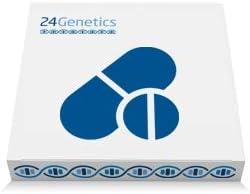 24Genetics - Test de ADN de FARMACOGENÉTICA - Prueba genética de Farmacogenómica - Incluye kit de ADN y test de Ancestros