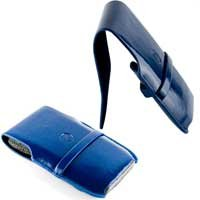 DLO SlimFolio Patent Leather Case for iPod touch 1G, 2G, 3G; iPhone 1G, 3G (Navy Blue)