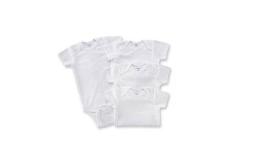 Gerber Short Sleeve Onesie Solid