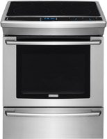 Electrolux EW30ES80RS 30'' Star K, ADA Compliant Electric Slide-In Range Oven with 5 Burners in Stainless Steel