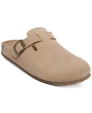 Madden Girl Women's Cattee Footbed Clog Shoes (Taupe) - Size 6M ...