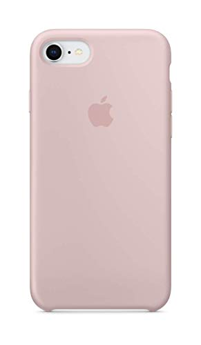 Apple Silicone Case (for iPhone 8 / iPhone 7) - Pink Sand