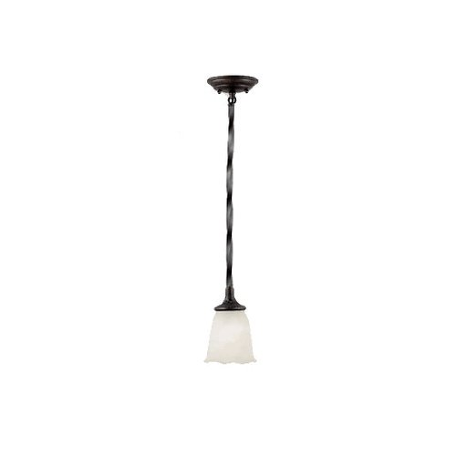 (Quoizel KL1506EP Kendall 1-Light Mini Pendant in Bronze)