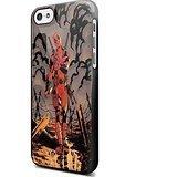 daredevil mashup deadpool superhero For iPhone 5c Black (Deadpool Walpaper)