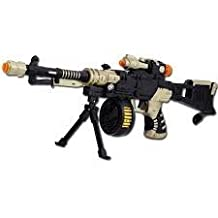 Camouflage imitation guns telescopic shock gun with lights and music Child electric gun rifle pistol sniper rifle