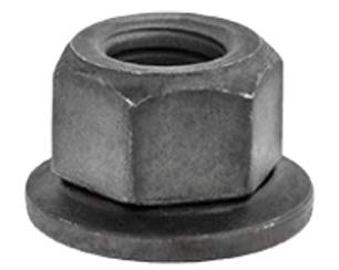 Clipsandfasteners Inc 25 M8-1.25 Free Spinning Washer Nut 24mm OD ()