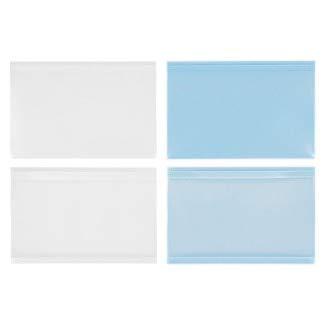 セイニチ パールソフト カードケース窓付N(ナチュラル) 60×90×0.20mm 100枚×50袋 B0095DA1PW