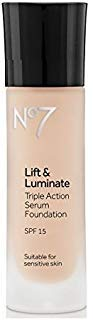 No7 Lift & Luminate TRIPLE ACTION Serum Foundation - Cool Ivory