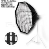 Fotodiox EZ-Pro Octagon Softbox 48'' with Speedring for Bowens Gemini Standard, Classica Powerpack, R, RX & Pro Series Strobe