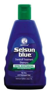 SELSUN BLUE Extra Moisturizing Shampoo 120ml -Moisturizing Treatment. Enriched with Aloe and Moisturizers. Indicated for The Control of Dandruff flaking and itching by Selsun Blue