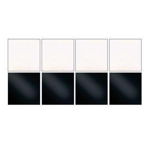 Wissmach Essentials Clear And Black Glass Pack - 90 Coe
