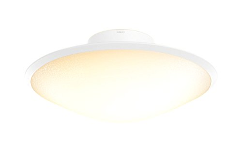 Philips Hue Phoenix Dimmable LED Smart Ceiling Light (Opal White Works with Alexa Apple HomeKit and Google Assistant)