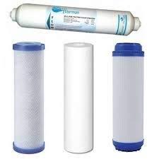 RC Box F+P Pack de 3 Filtros y Postfiltro Osmosis, Set de 5 Pi