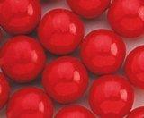 Hot Chewing Gum - Red Balls of Fire Cinnamon Gumballs 1LB Bag