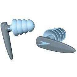 Speedo Ear Plugs (Speedo Biofuse Aquatic Earplugs - Grey/Blue -)