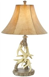 vintage verandah table lamps faux antler table lamp 6877
