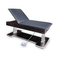 Hausmann Industries - 4797-704 - Hi-Lo Treatment Table w/Power Backrest-Nordic Blue