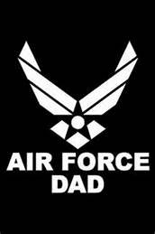 United-States-Proud-Air-Force-Dad-USAF-Military-Vinyl-Decal-StickerWHITECars-Trucks-Vans-SUV-Laptops-Wall-Art55-X-5CGS384