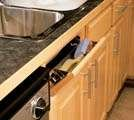 Knape & Vogt SF31 31'' Sink Front Tray without Stop, Stainless Steel