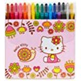 sanrio hello kitty 16 Color Twist Crayon Set:Snail