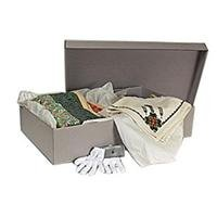 Archival Methods Textile Storage Kit, Gray by Archival Methods