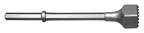Champion Chisel, 1-1/8 by 6-Inch Hex Shank Steel Bushing Tool, 16 Steel Teeth – Designed for 60lb & 90lb Pneumatic Hammers