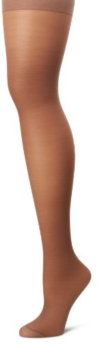(Hanes Silk Reflections Women's Alive Full Support Control Top Pantyhose, Town Taupe, D)
