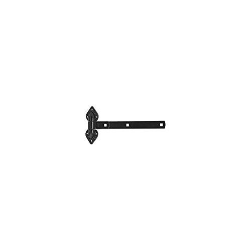 NATIONAL HARDWARE N109006 HINGE GATE BLK 10IN Pack of 5