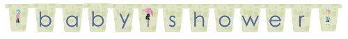 Mod Mom Baby Shower Letter Banner