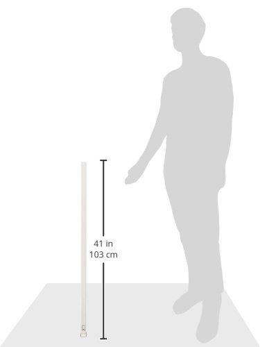 abschlie/ßbar wei/ß 77191 150 cm lang stabiler Edelstahl-Riegel AL0125 ABUS Fenster-Panzerriegel FPR217 sichtbarer Schutz gegen Einbr/üche