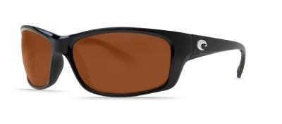 Costa Del Mar Jose Sunglasses, Black, Copper 580 Plastic