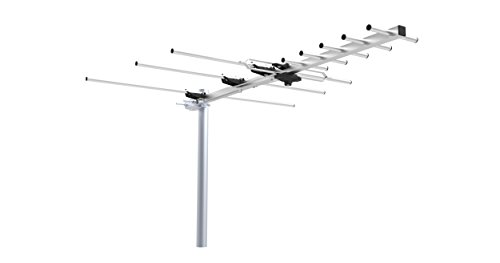 UHF VHF FM Outdoor Digital HDTV ATSC TV DTV Antenna - Quick Assembly