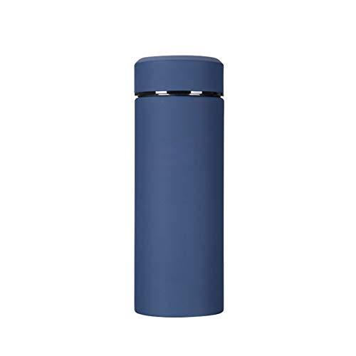 Thermos cup Isolierungs-Schalen-Studenten-Edelstahl-Schalen-tragbare Ms. Large Capacity Couple Cups (Farbe     Matte schwarz, Größe   19  7  7cm) B07P9H9BRV | Üppiges Design  984f60
