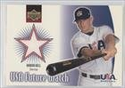 Aaron Hill (Baseball Card) 2002 Upper Deck - USA Future Watch Jerseys #US-AH